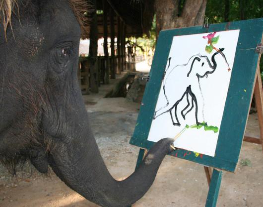 elephant-artist