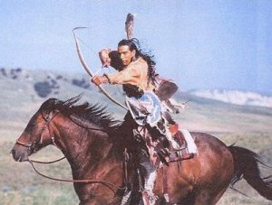 native-american-archer-on-horseback