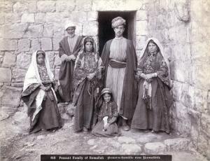 Peasant_Family_of_Ramallah_1900-1910