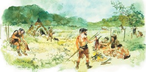 hunter_gatherer_camp_near_Bletchingley__around_5000BC__WSmap_panel_