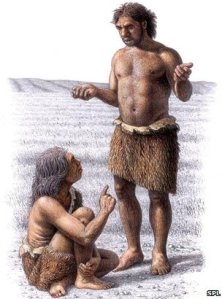 _49239048_e438142-neanderthal_woman_and_man-spl