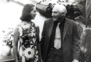 Jane Goodall and Louis Leakey